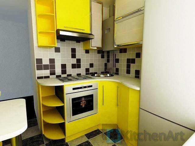 1369662410 remont kuchni 6 metrov 2 - Угловые кухни на заказ