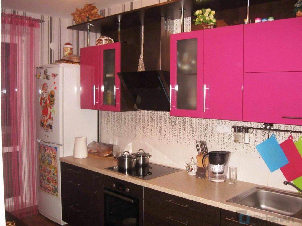 1389351998 015 1024x768 - Розовая кухня на заказ