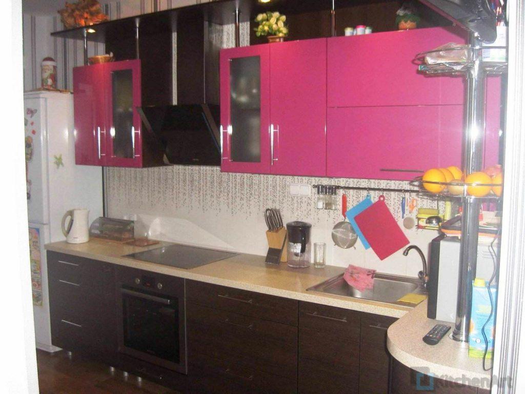 1389352013 001 1024x768 - Розовая кухня на заказ