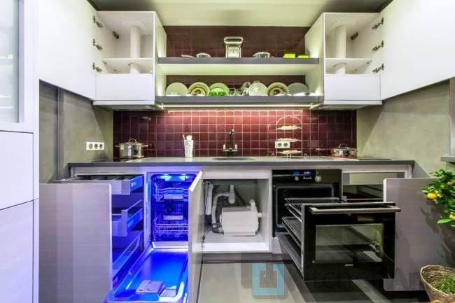1447940527 18 - Белая кухня на заказ