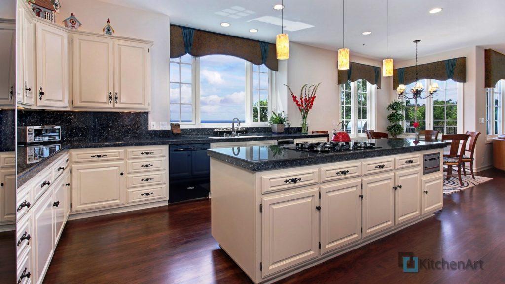 interer dizayn kuhnya stol 4846 1024x576 - Островная кухня на заказ