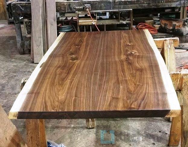 6d6d370254fc56ffc8209ea155034b6c wood slab table wood tables - Столешница из дерева под заказ