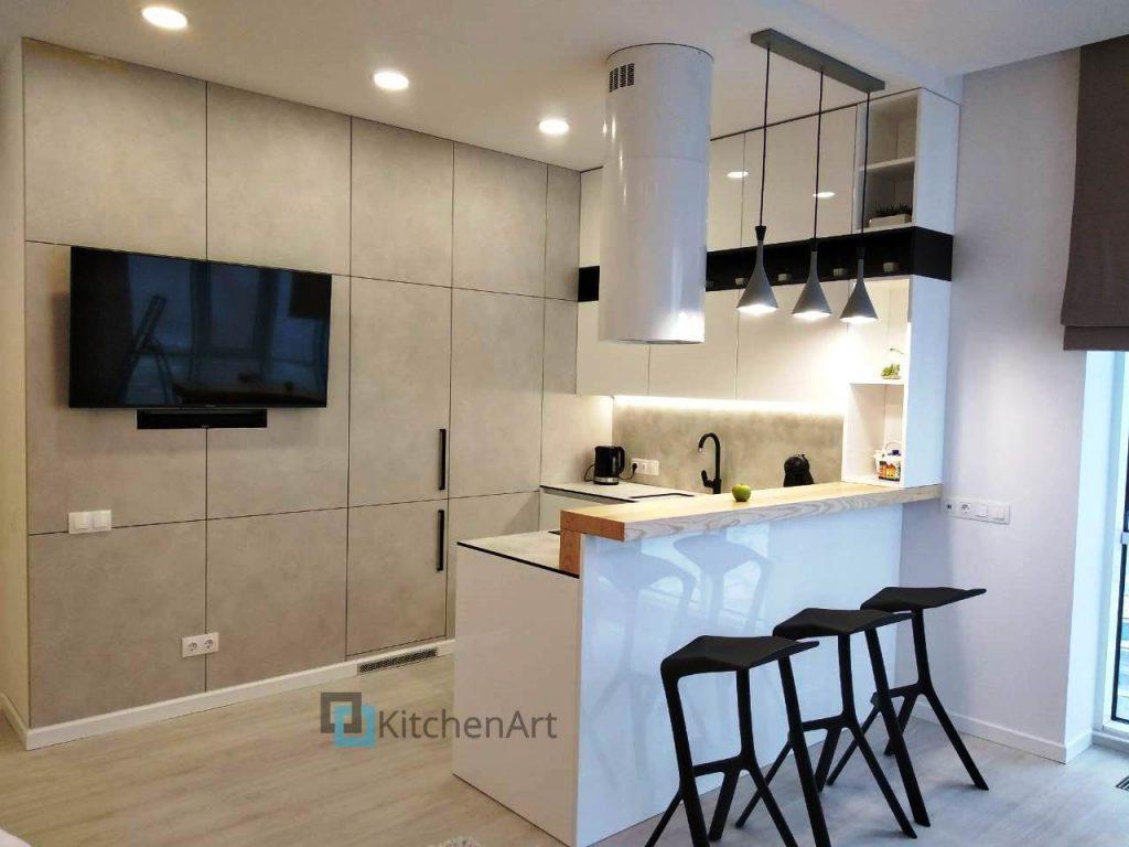 22 1024x768 - Кухня в стиле ЛОФТ на Заказ