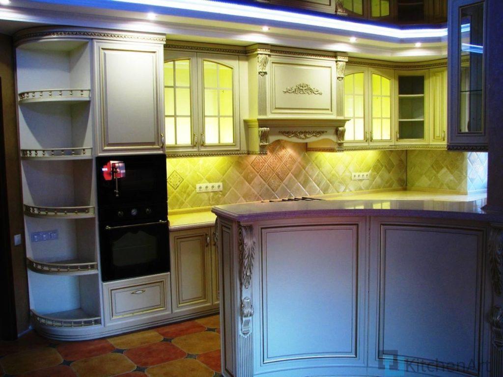 китченарт 1024x768 - Шпонированная кухня на заказ