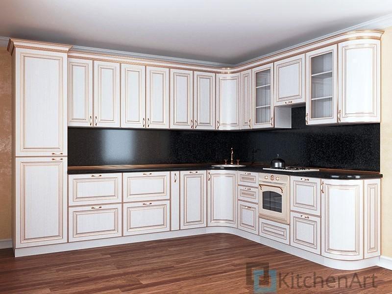китченарт119 - Белая кухня на заказ