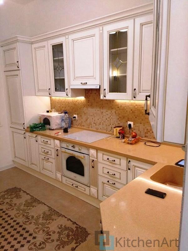 китченарт120 - Классическая кухня на заказ