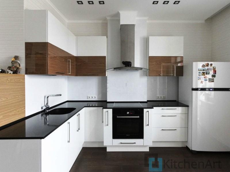 китченарт121 - Белая кухня на заказ