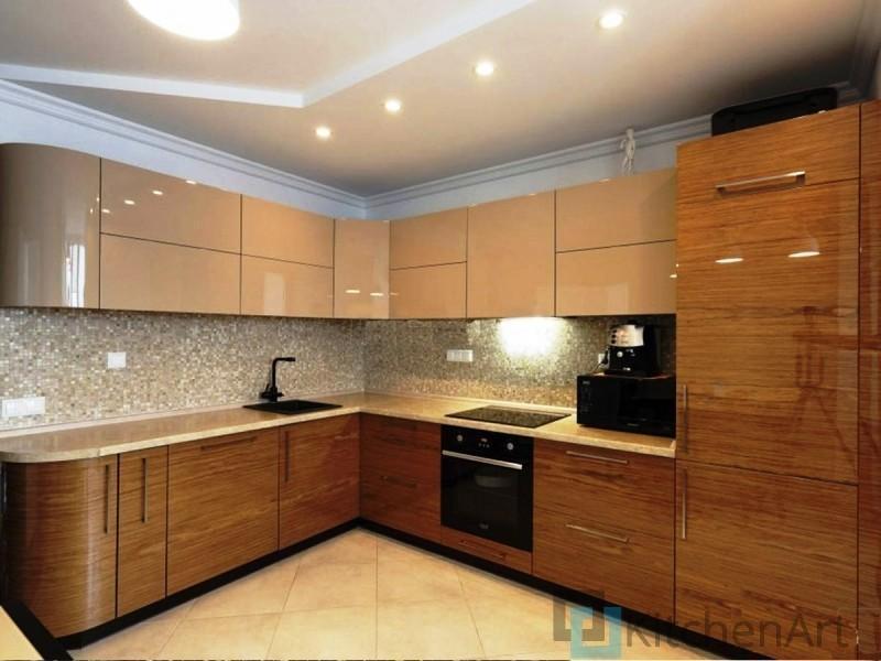 китченарт126 - Шпонированная кухня на заказ