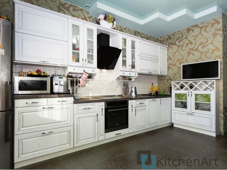 китченарт127 - Белая кухня на заказ