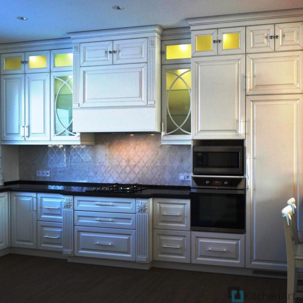 китченарт14 1024x1024 - Белая кухня на заказ