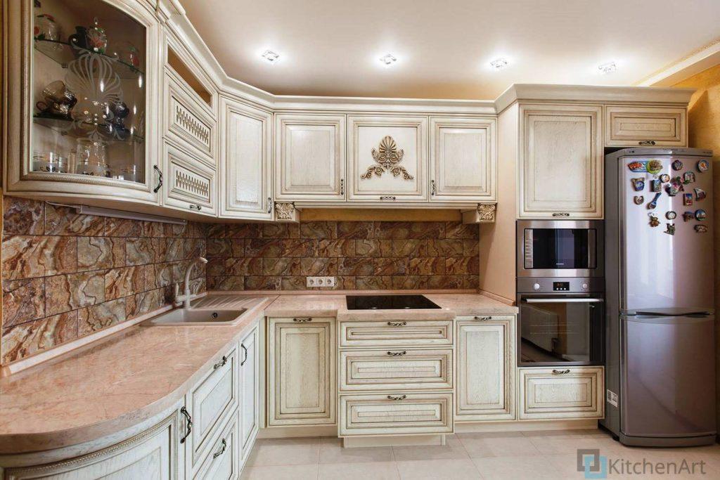 китченарт146 1024x683 - Классическая кухня на заказ