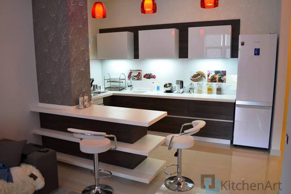 китченарт151 - Кухня из МДФ на заказ