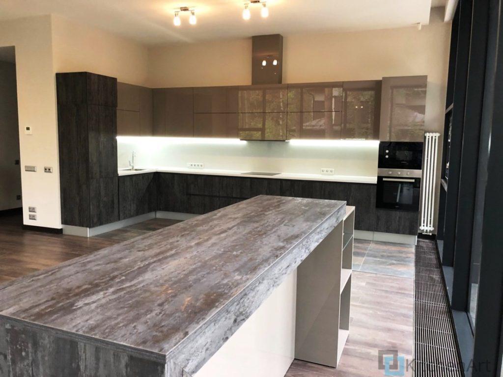 китченарт153 1024x768 - Кухня из ДСП на заказ