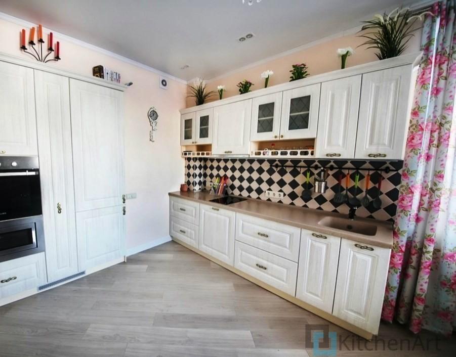 китченарт170 - Белая кухня на заказ