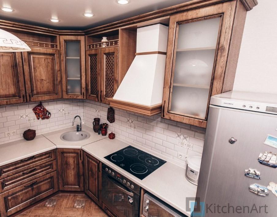 китченарт173 - Классическая кухня на заказ