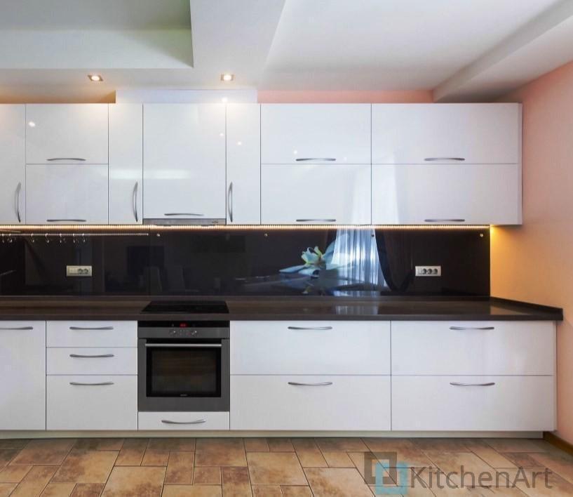 китченарт180 - Белая кухня на заказ