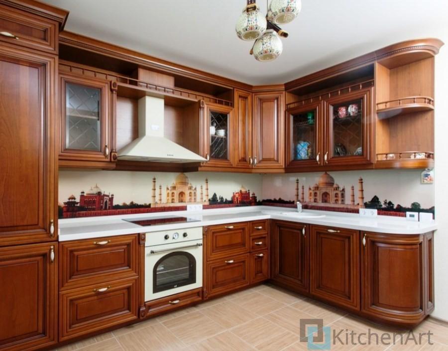 китченарт184 - Угловые кухни на заказ