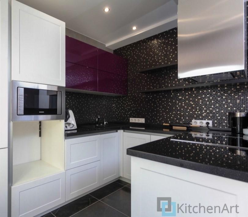 китченарт186 - Белая кухня на заказ