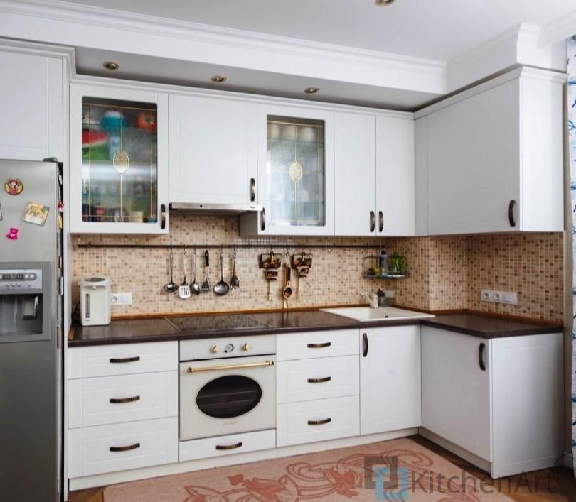 китченарт187 - Белая кухня на заказ