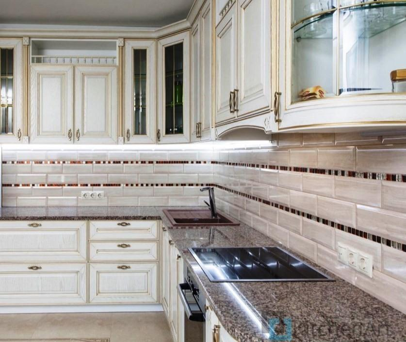 китченарт188 - Угловые кухни на заказ