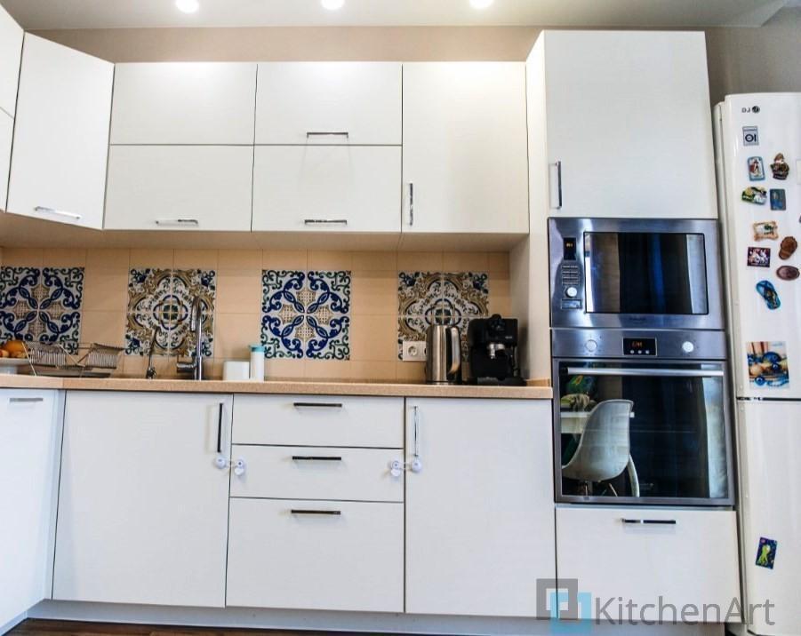 китченарт197 - Белая кухня на заказ