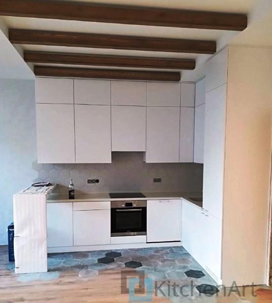 китченарт203 - Белая кухня на заказ