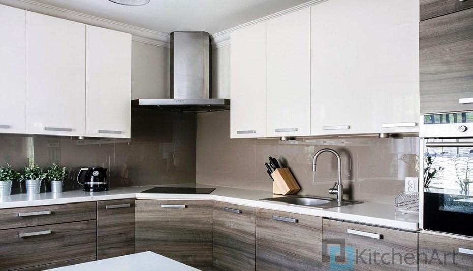 китченарт206 - Белая кухня на заказ