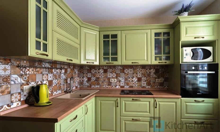 китченарт207 - Угловые кухни на заказ