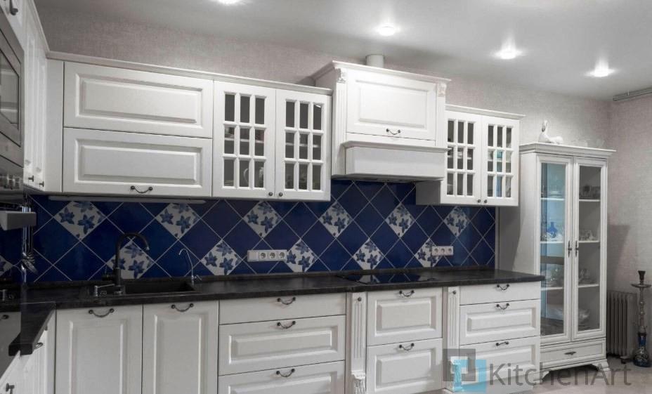 китченарт209 - Белая кухня на заказ