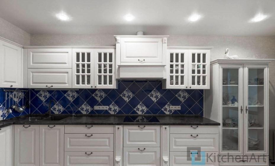 китченарт210 - Белая кухня на заказ