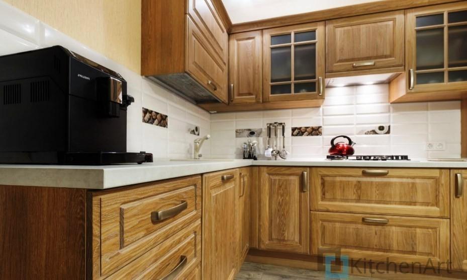 китченарт212 - Шпонированная кухня на заказ