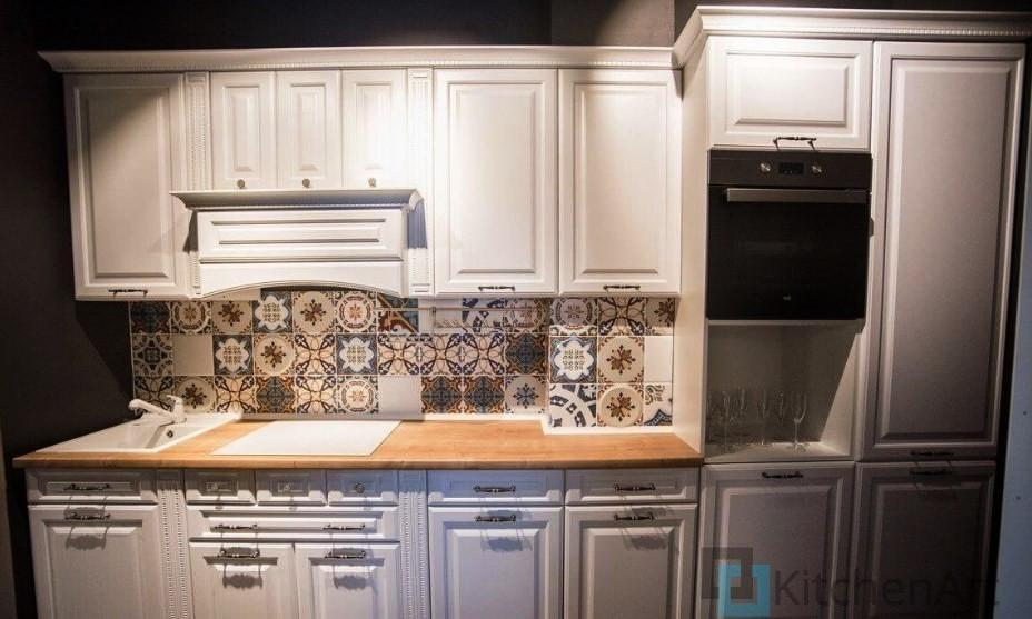 китченарт215 - Белая кухня на заказ