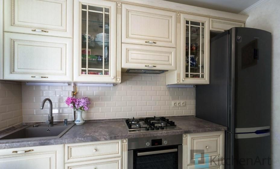 китченарт216 - Белая кухня на заказ