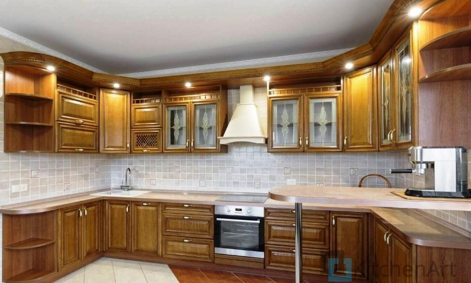 китченарт217 - Угловые кухни на заказ