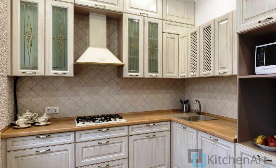 китченарт219 - Белая кухня на заказ