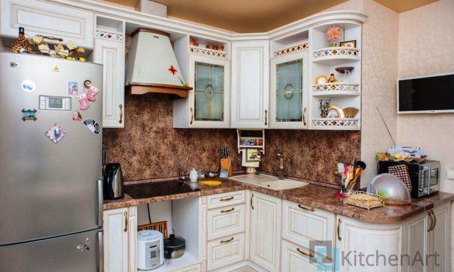 китченарт220 - Белая кухня на заказ