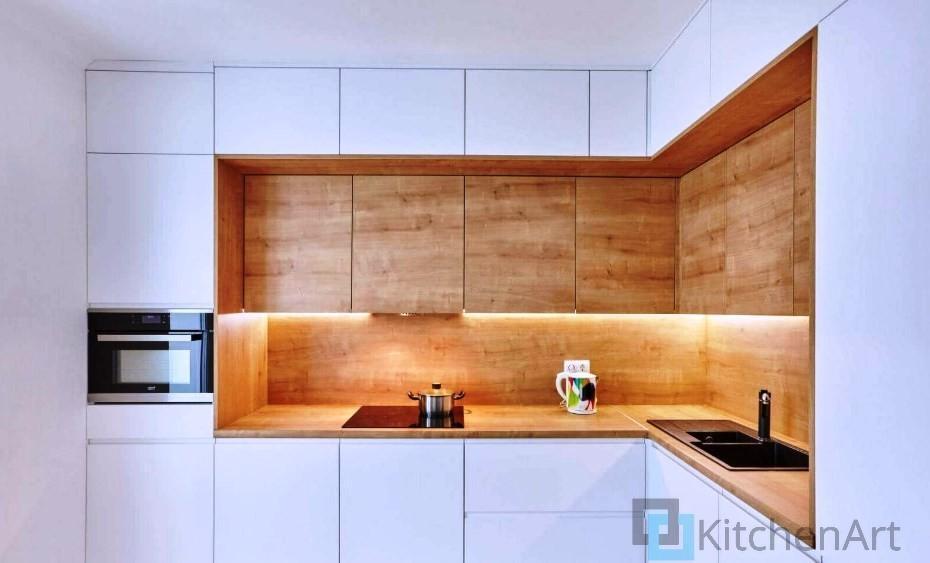 китченарт221 - Белая кухня на заказ