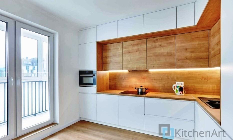 китченарт222 - Белая кухня на заказ