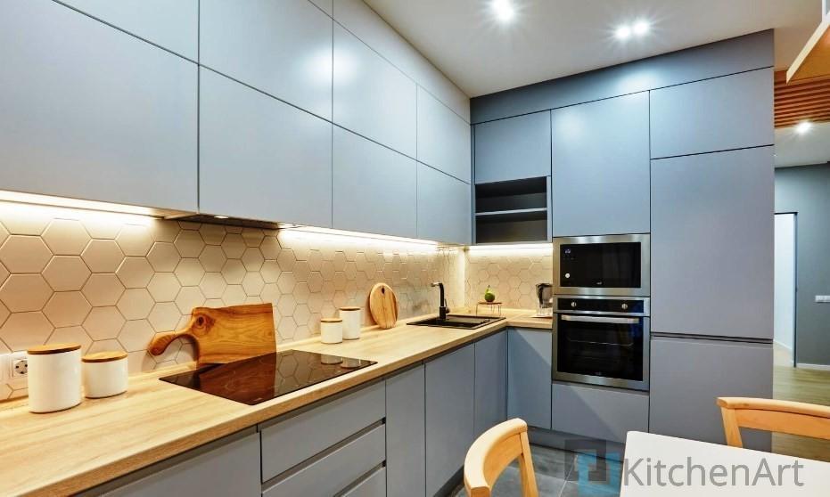 китченарт226 - Белая кухня на заказ