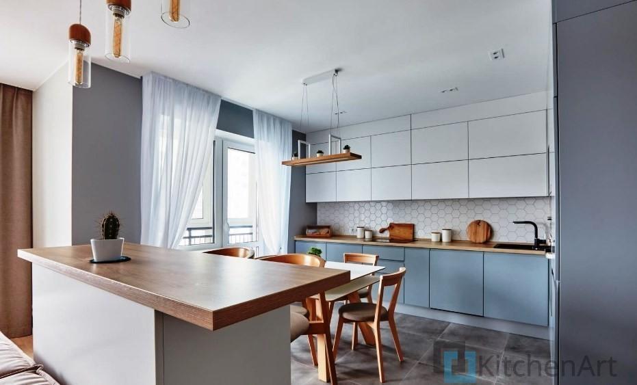 китченарт227 - Белая кухня на заказ