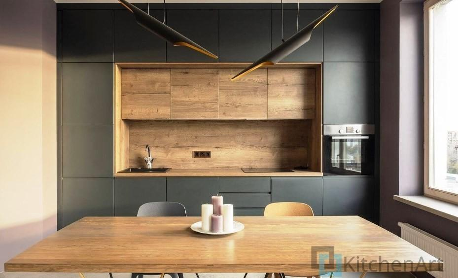 китченарт228 - Кухня в стиле ЛОФТ на Заказ