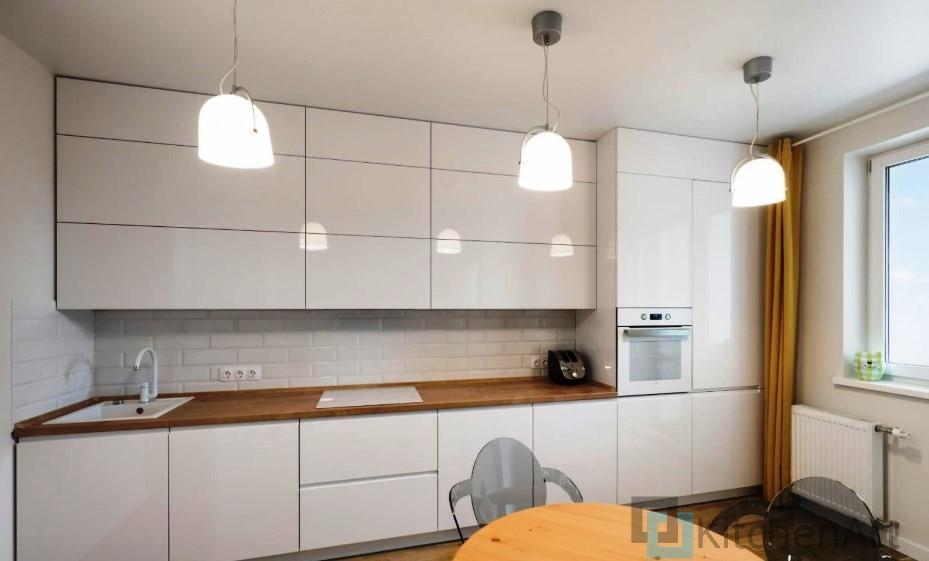 китченарт234 - Белая кухня на заказ