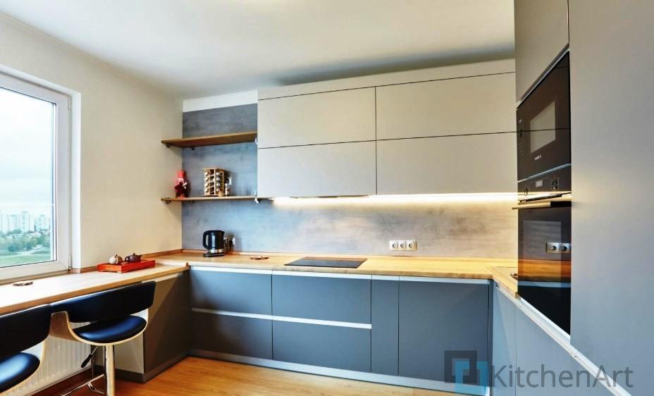 китченарт238 - Кухня из МДФ на заказ