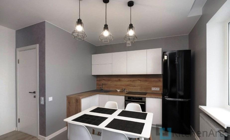 китченарт240 - Белая кухня на заказ