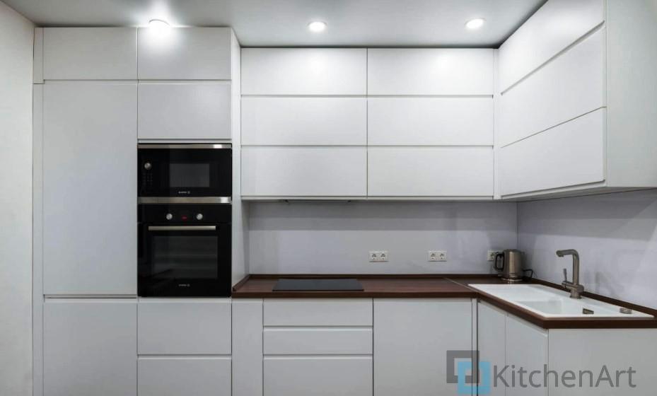 китченарт241 - Белая кухня на заказ