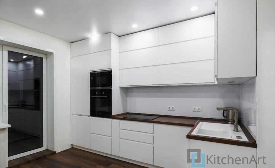 китченарт242 - Белая кухня на заказ
