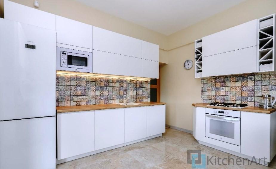 китченарт247 - Белая кухня на заказ