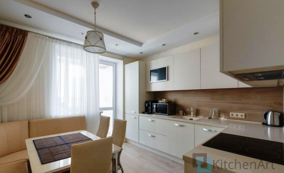 китченарт252 - Белая кухня на заказ