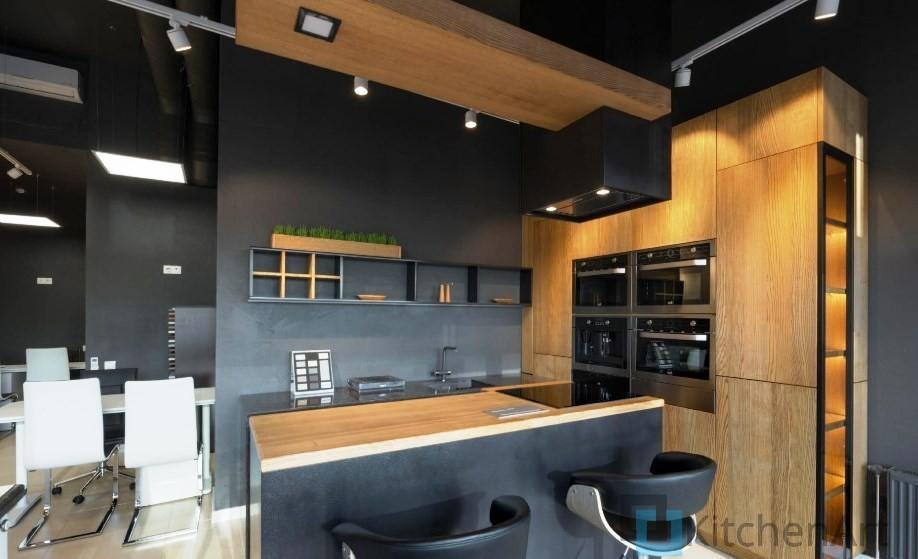 китченарт254 - Кухня в стиле ЛОФТ на Заказ