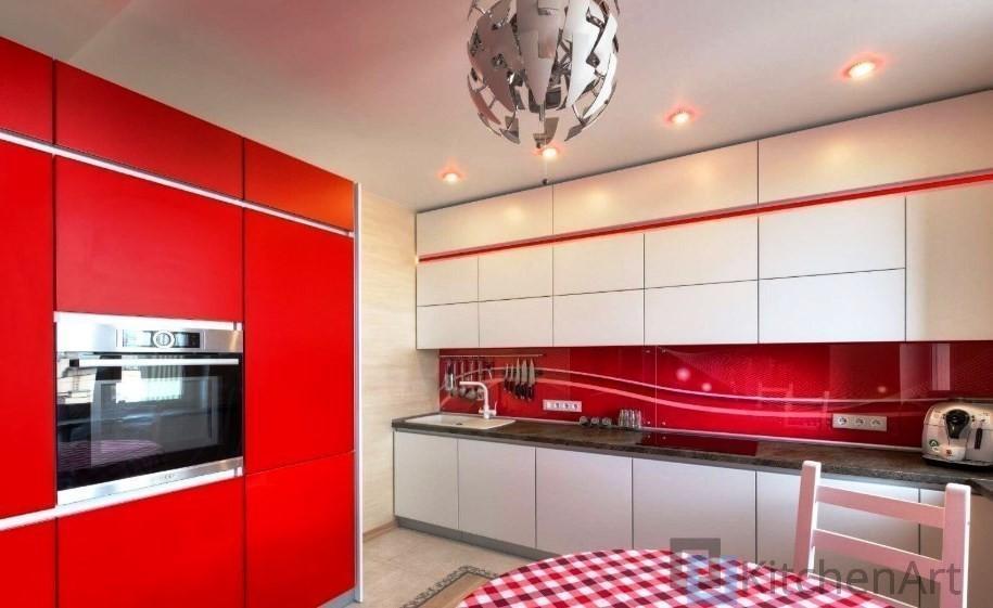 китченарт256 - Белая кухня на заказ